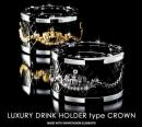 【GARSON】Drink holder Type CROWN GD